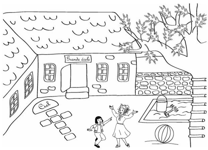 Coloriage Kermesse Ecole.La Farandole Bienvenue Sur Le Site De L Association Des