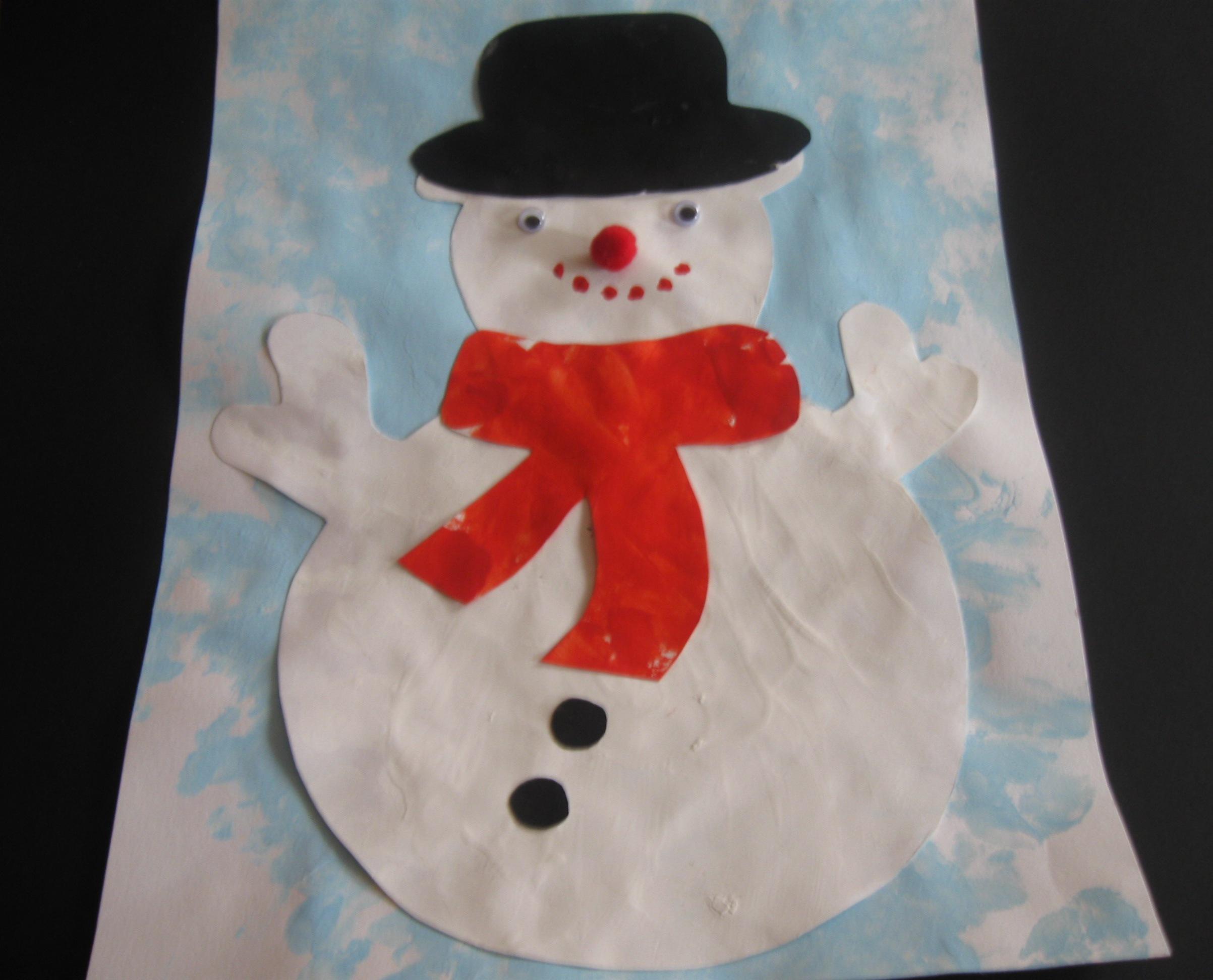 La farandole bienvenue sur le site de l 39 association des assistantes maternelles agr es du - Modele bonhomme de neige ...